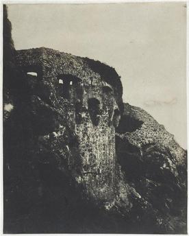 Charles Hugo, Château de Mont-Orgueil, aout 1853.