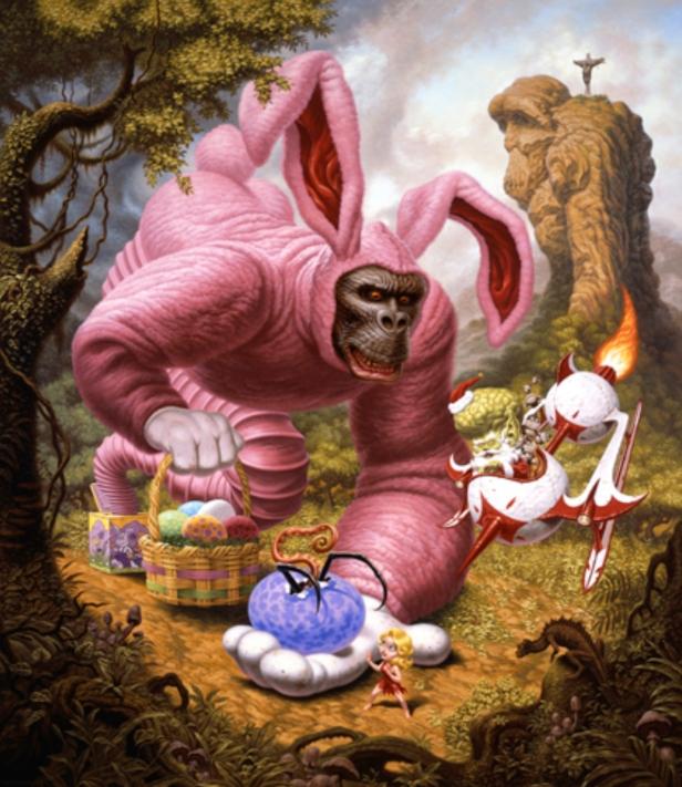 Todd Shorr, An Ape Alllegory, 2008.