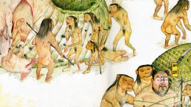 Mu Pan, China Myth (détail), 2011