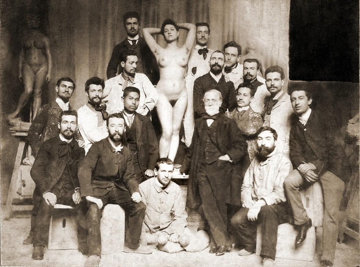Fin de siècle, Atelier de Jules Cavelier Aux Beaux-Arts de Paris