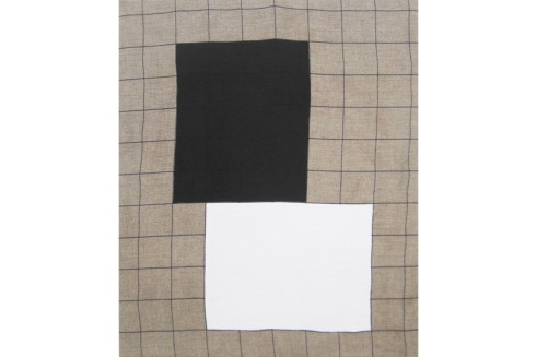 Nicolas Chardon, formes noire-blanche, 2010.