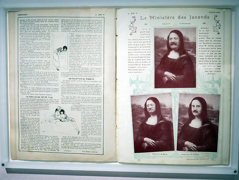 """""""Le Ministère des Jocondes"""", Fantasio n°179, janvier 1914"""