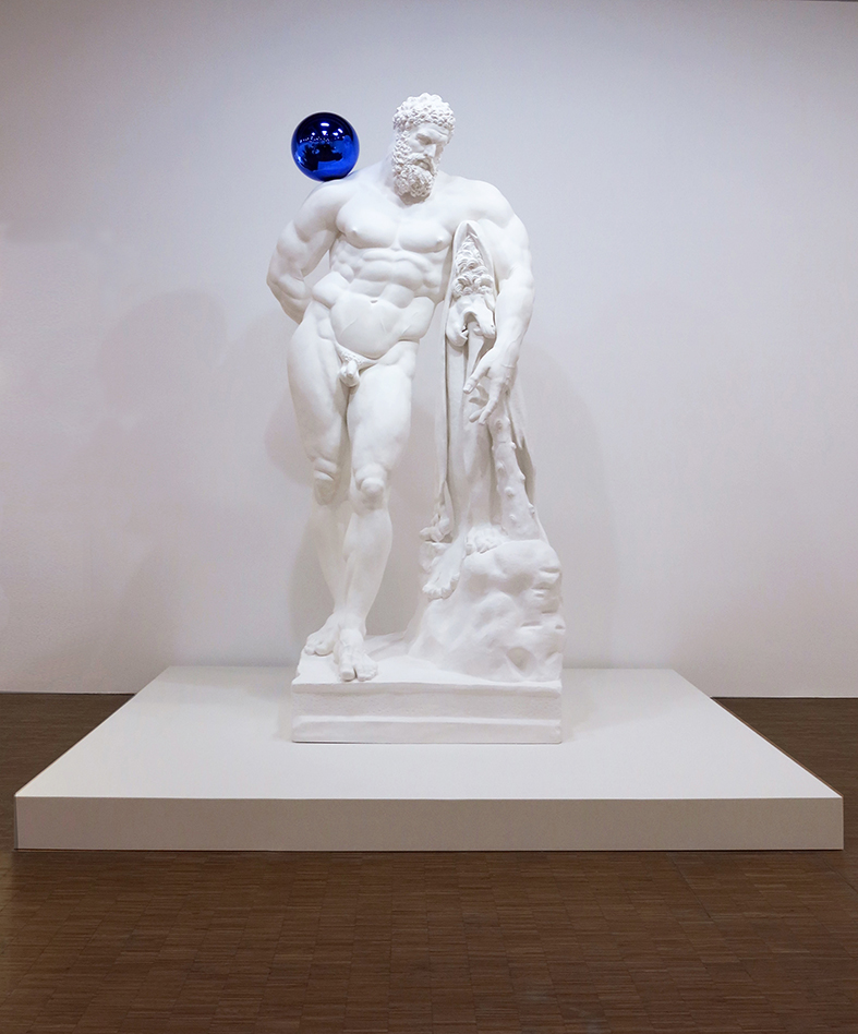 Jeff Koons Gazing Ball (Farnese Hercules)