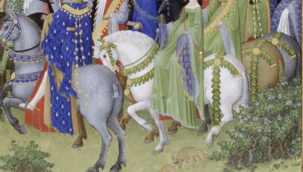 Très riches heures du duc de Berry, Ms. 65, f. 5 v(©) RMN (Domaine de Chantilly)  René-Gabriel Ojéda_0
