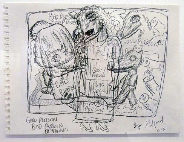bjarne Melgaard DRAWING554