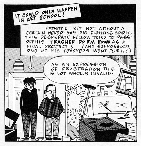 Daniel Clowes, Art School Confidential.