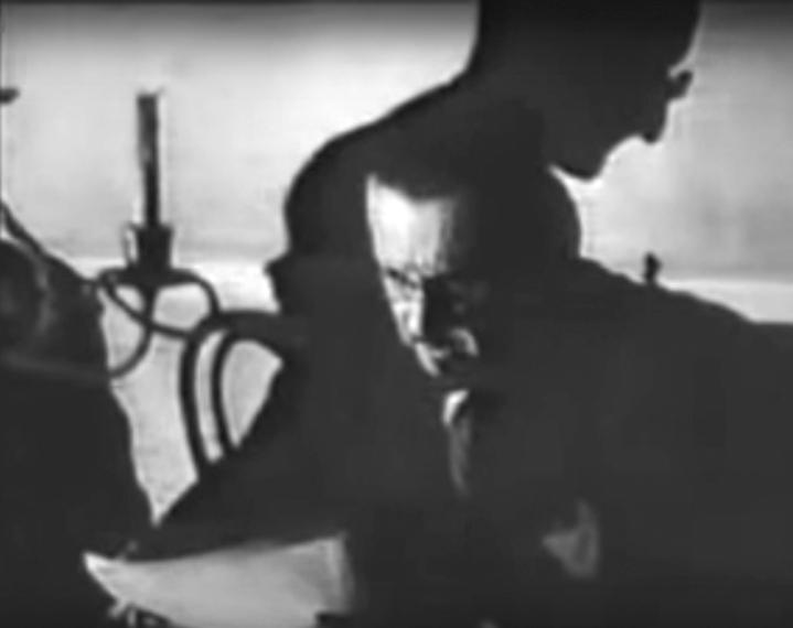 Forces occultes 1943. L'hombre du juif planant sur les délibérations du Grand Orient.