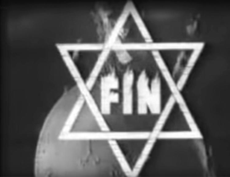 Forces occultes 1943. Carton de