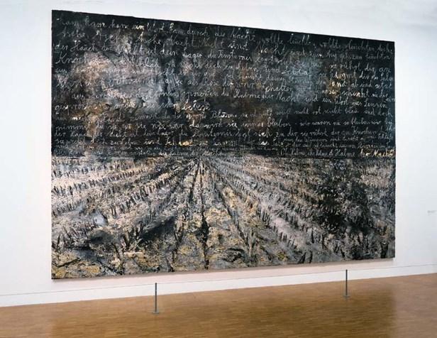 Anselm Kiefer, Oh Halme, ihr Halme, oh Halme der Nacht  [Oh épis, vous épis, oh épis de la nuit ], 2012.