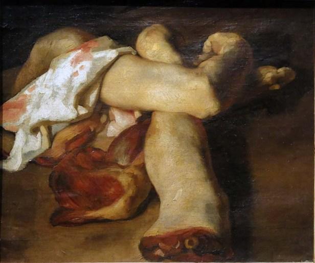 GERICAULT, Morceaux anatomiques ou étude de bras et de jambes pour le Radeau de la méduse, 1818-1819.