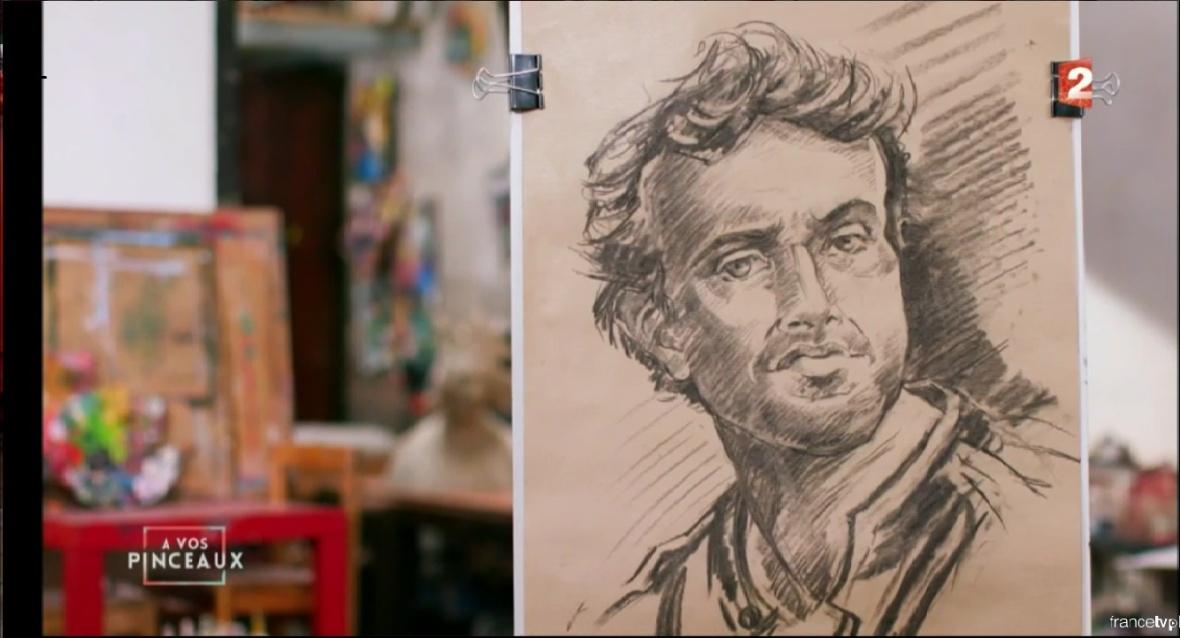 portrait de Bruno Salomone par Bruno Vannacci!