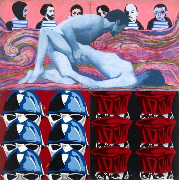 Coopérative des Malassis, Qui tue? ou l'affaire Gabrielle Russier, 1970.