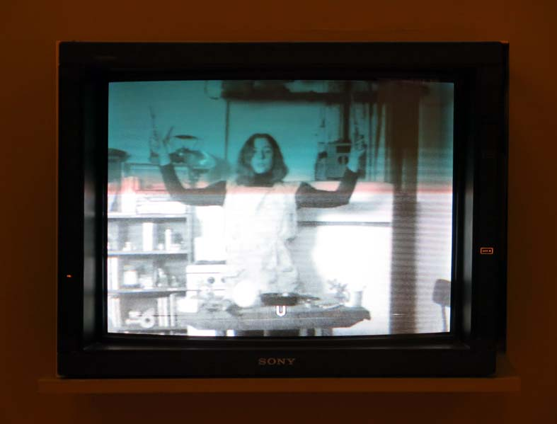 Martha Rosler, Semiotics of Kitchen, 1975.